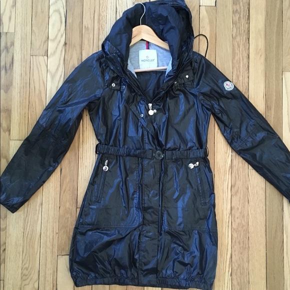 faa76899b Moncler Jackets & Coats | Womens Lightweight Hooded Jacket Black S ...